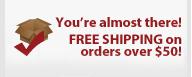 No free shipping