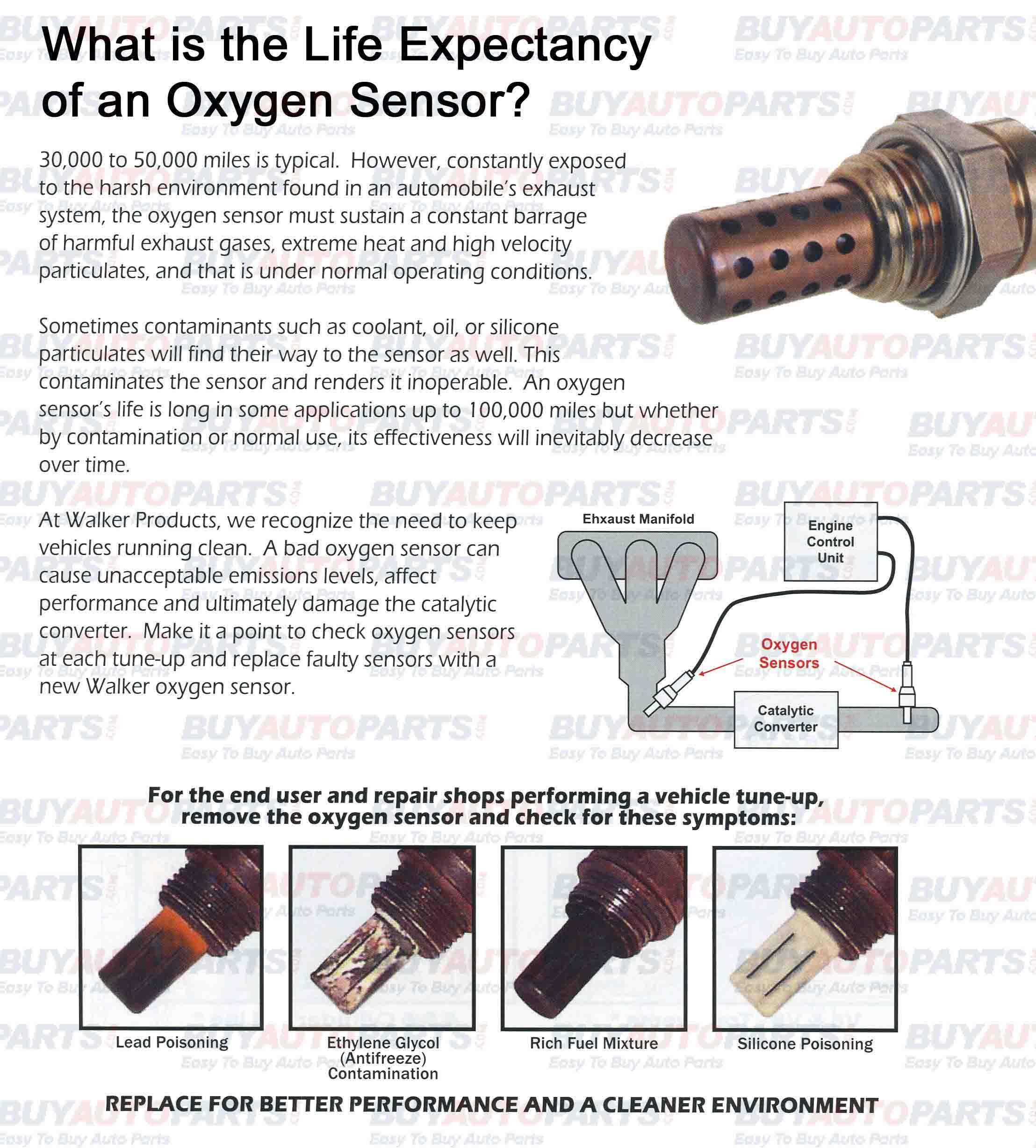 Oxygen Sensor Life Expectancy