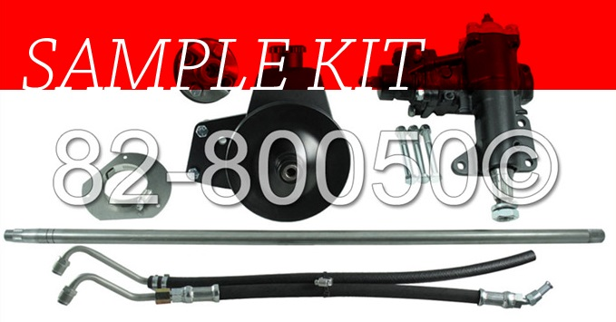 Sample Steering Rack Conversion Kit