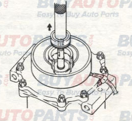 Sanden AC Compressor Service Operations Shaft