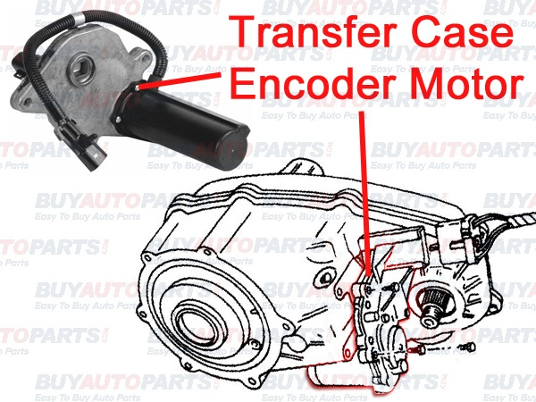 Transfer Case Encoder Motor