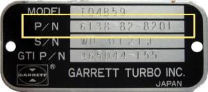 Garrett Turbo Tag