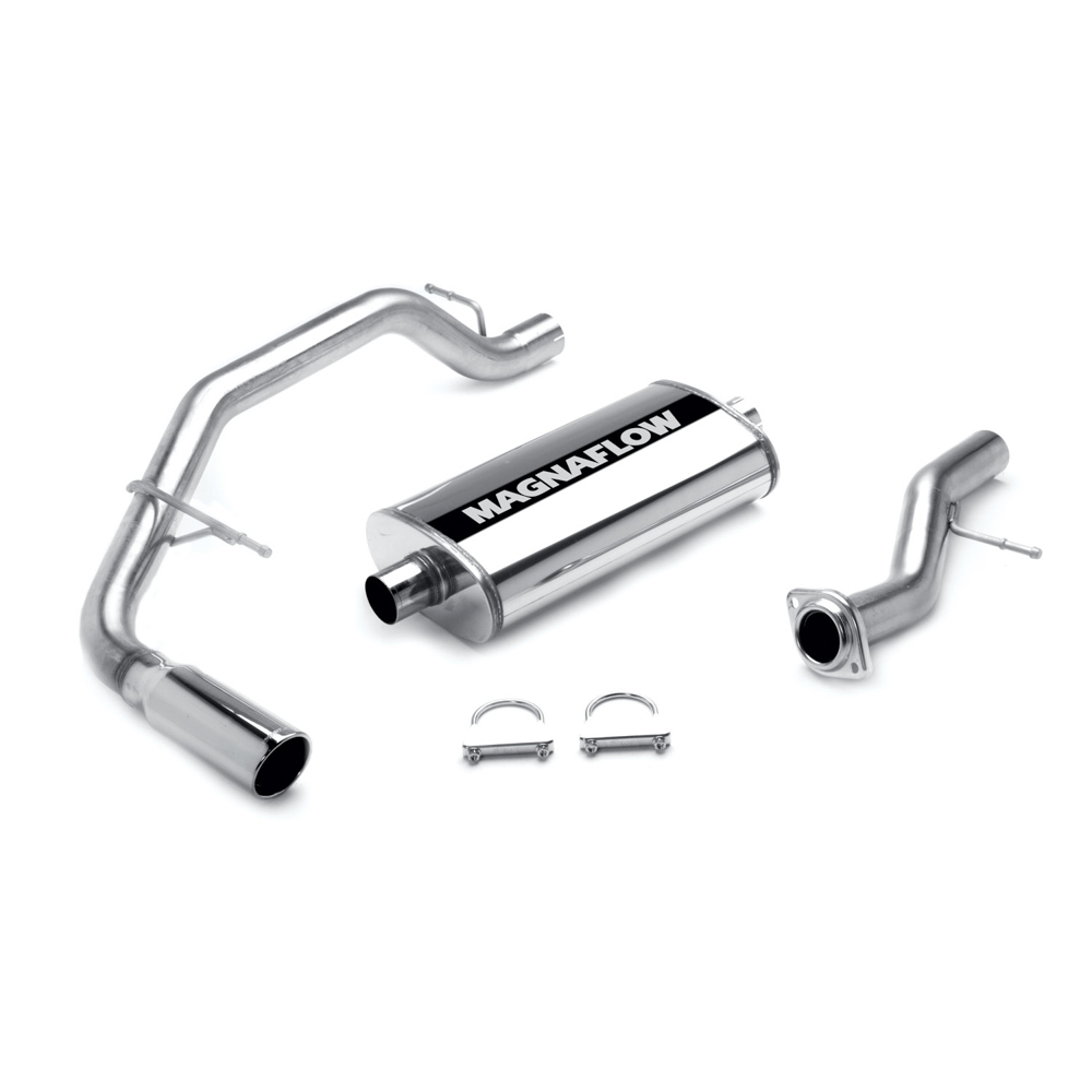 New 2001 Chevrolet Tahoe Cat Back Performance Exhaust - Rear LT - 5.3L - Single Pass. Side Rear