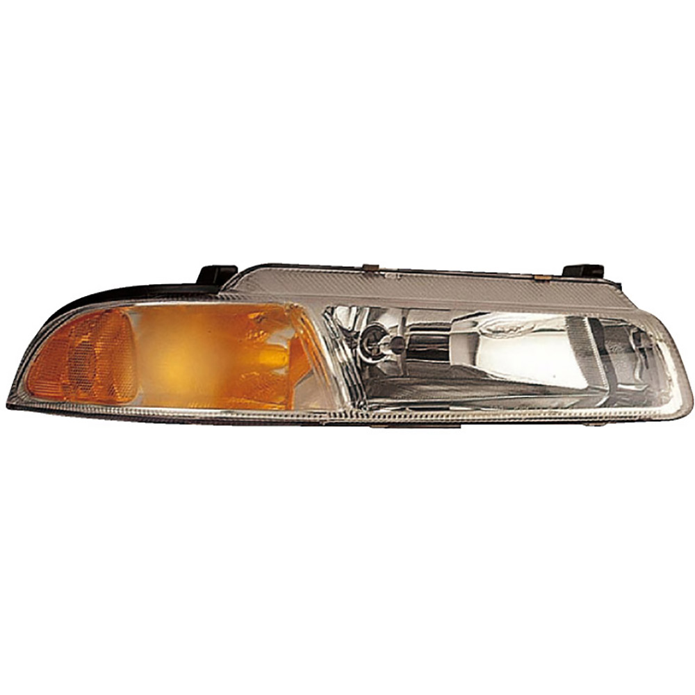 New 1999 Plymouth Breeze Headlight Set Pair 16-80376