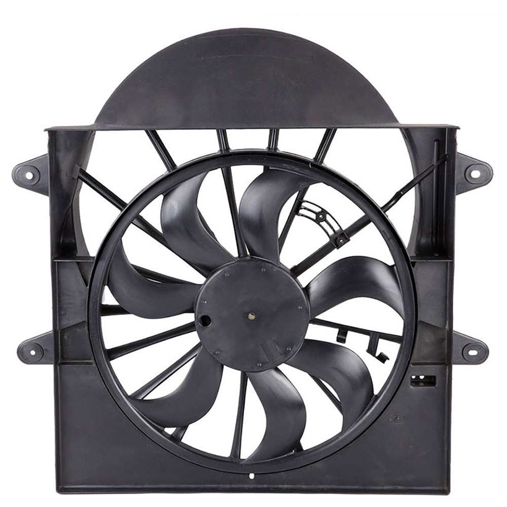 New 2006 Mercury Milan Car Radiator Fan Radiator and Condenser Side - 2.3L Engine - With Control Module Included