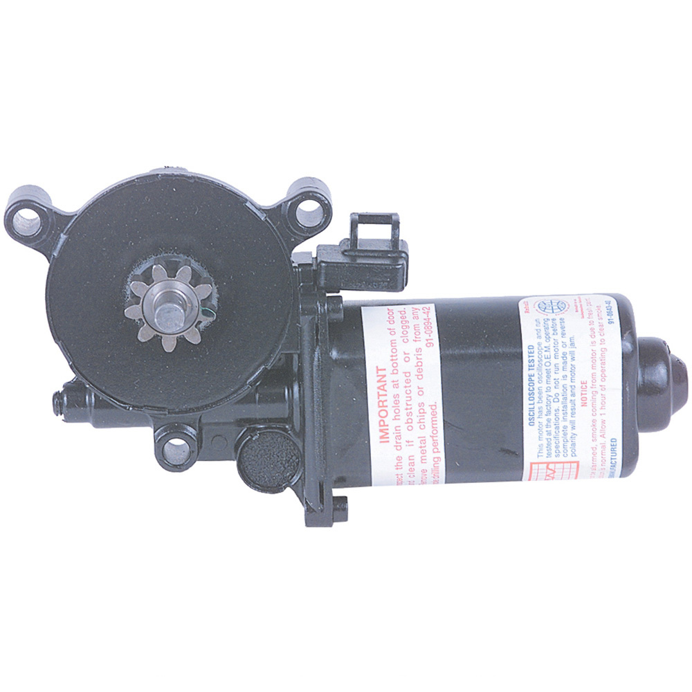 1998 Buick LeSabre Window Motor Only - Rear Right Contains Gear - w/o Regulator - Rear Right