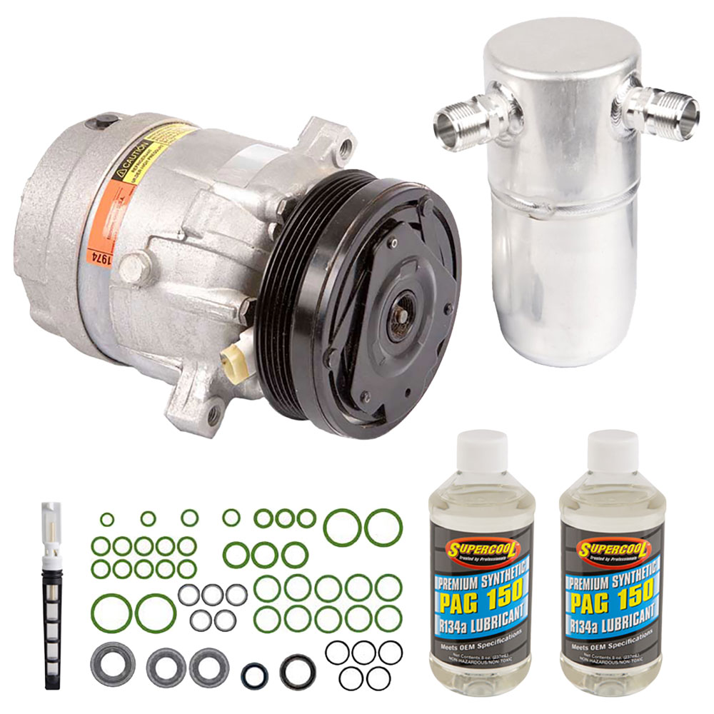 OEM 1999 Pontiac Sunfire AC Compressor Kit 2.2L Engine