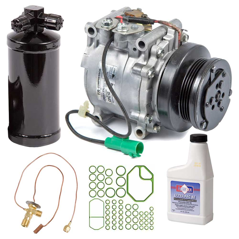 Crx usa for Honda civic ac compressor replacement cost