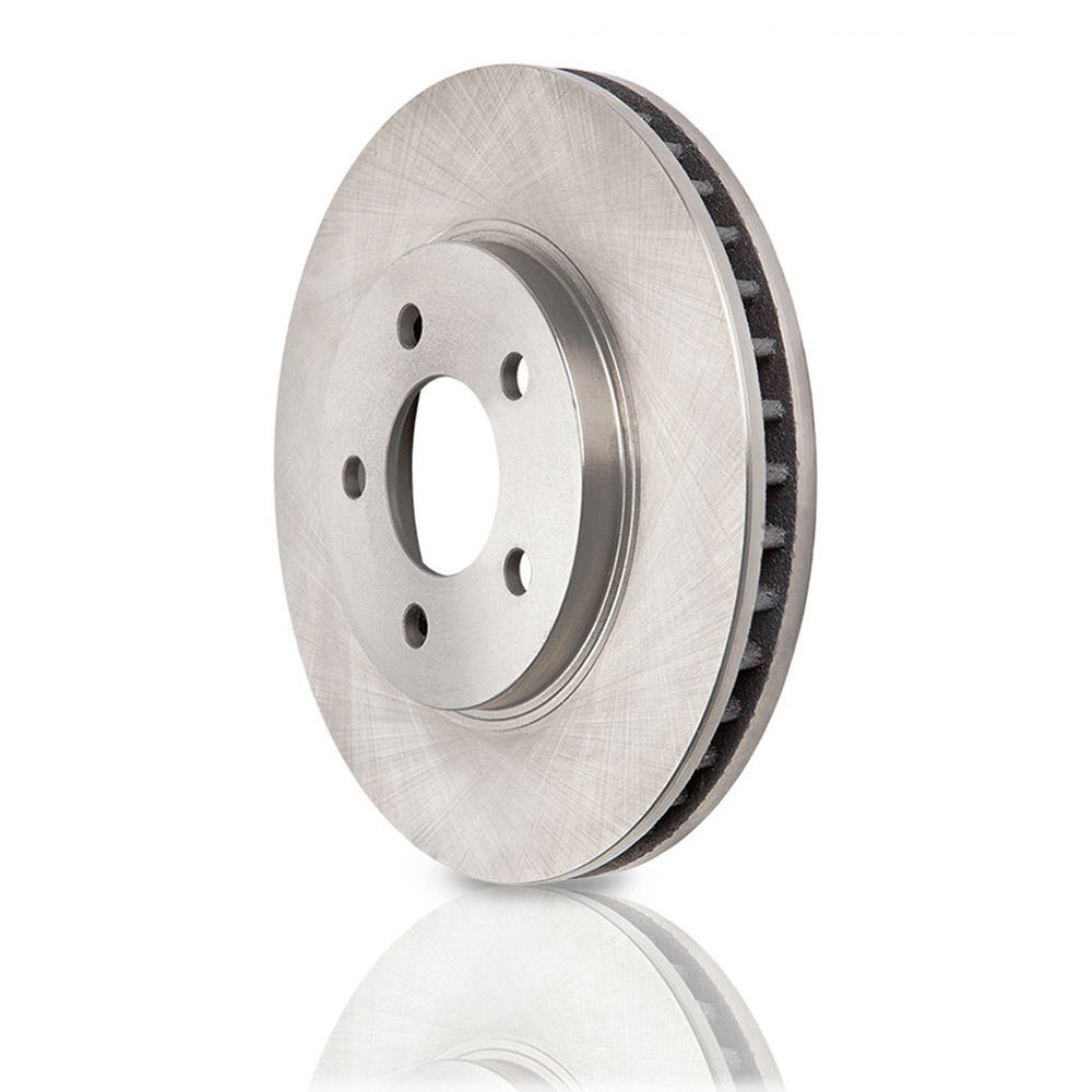 New 2012 Toyota Prius Plug-In Brake Disc Rotor - Front