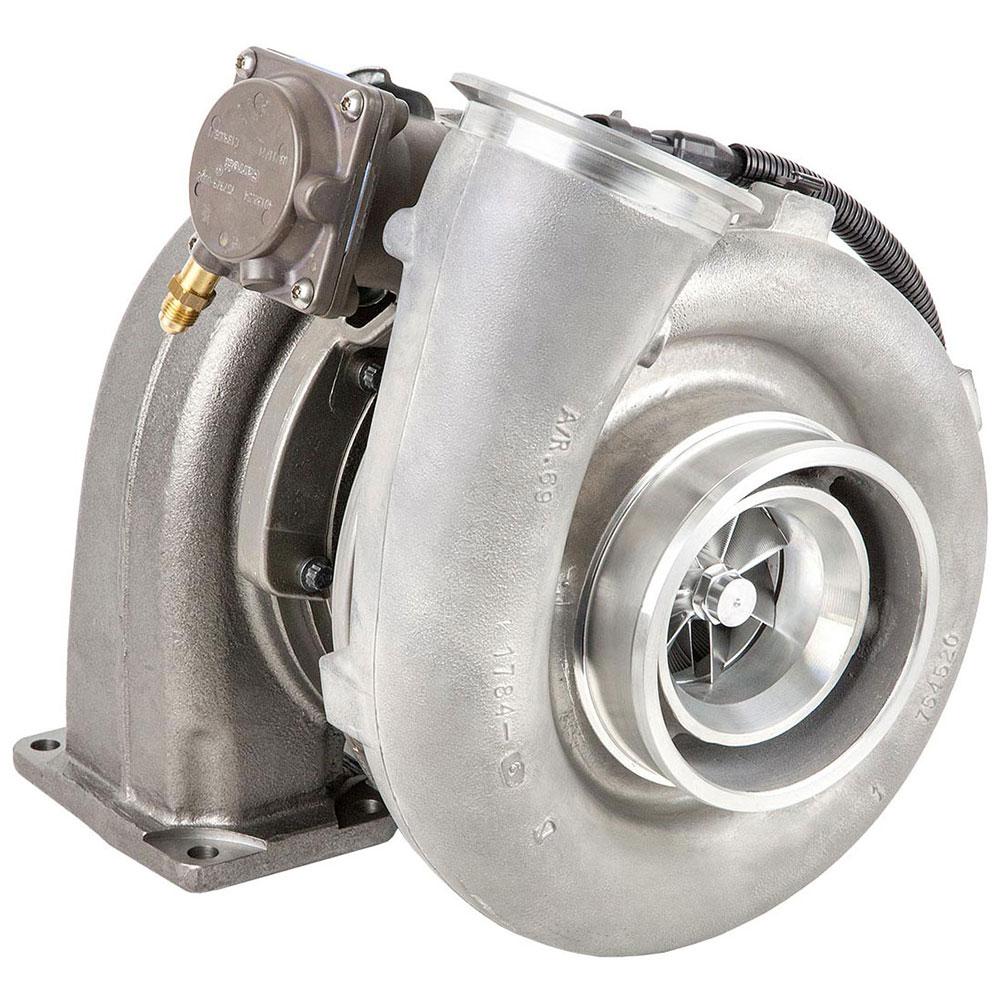 New 2001 Detroit Diesel Engines Series 60 Engines Turbo