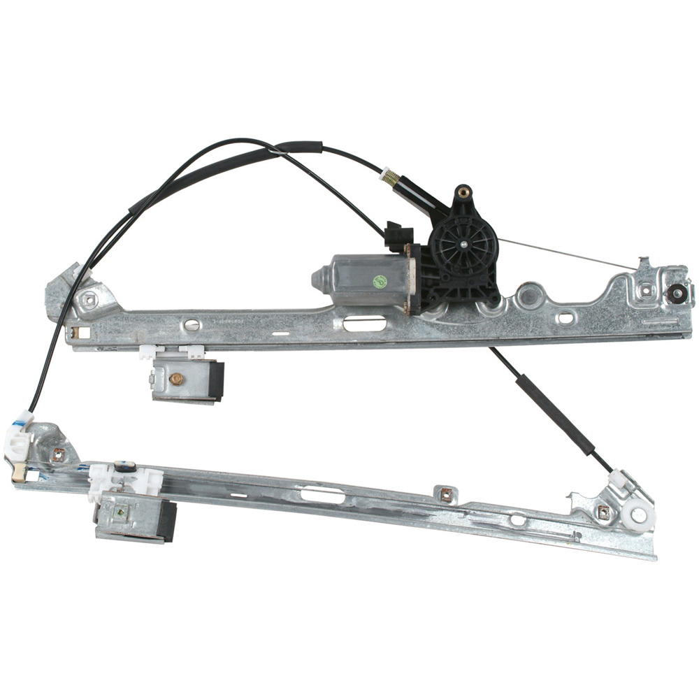 New 1999 Chevrolet Silverado Window Regulator with Motor - Front Left K3500 - w/ 6 Tooth Gear - Contains Gear - Supplied w/ Regulator Attached - Front