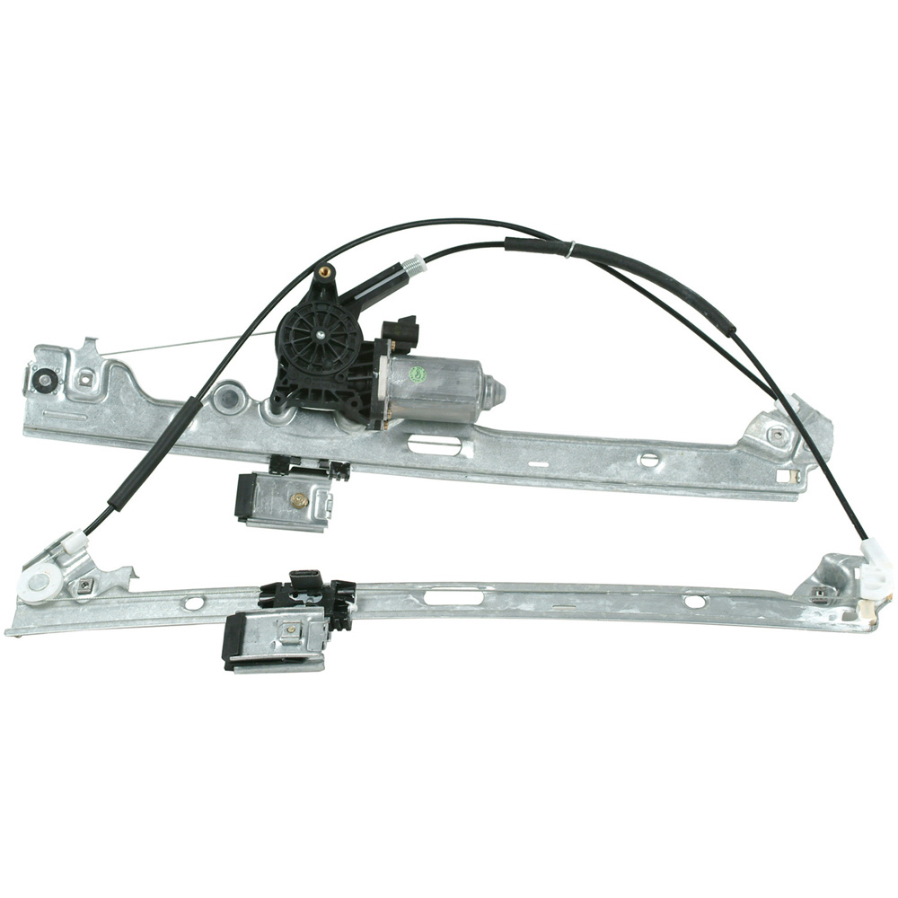 New 2001 Chevrolet Silverado Window Regulator with Motor - Front Right Silverado 2500 - Contains Gear - Supplied w/ Regulator Attached - Front Right