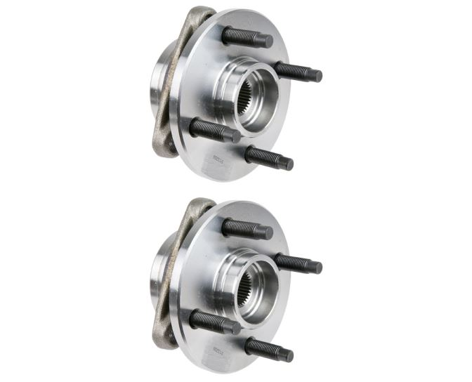 New 2007 Pontiac G5 Wheel Hub Assembly Kit - Front Pair Pair of Front Hubs - Without ABS