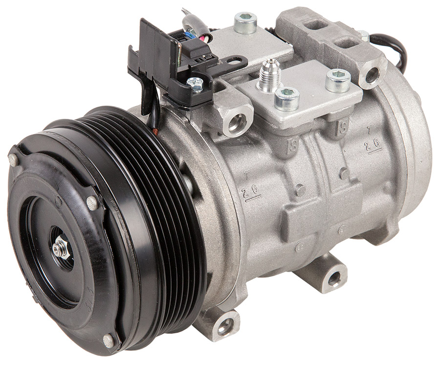 Image of 1990 Mercedes Benz 300E AC Compressor