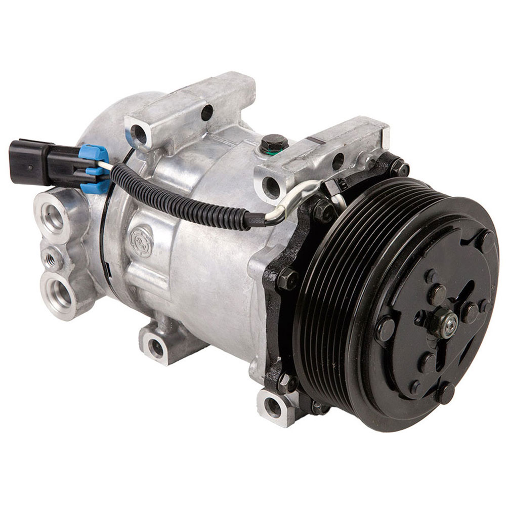 New 1984 Specialty and Performance Sanden AC Compressor 60-02144