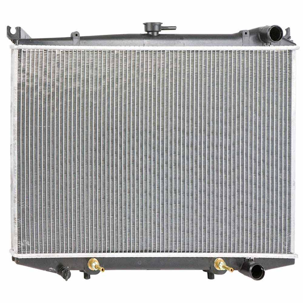 New 1986 Nissan Pick-Up Truck Car Radiator