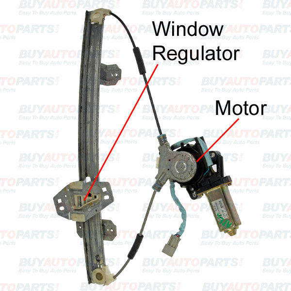 Repair window regulator for Window motor repair cost